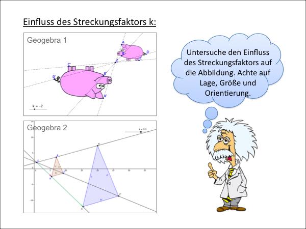 Zentrische Streckung - PowerPoint Präsentation PPT PPTX