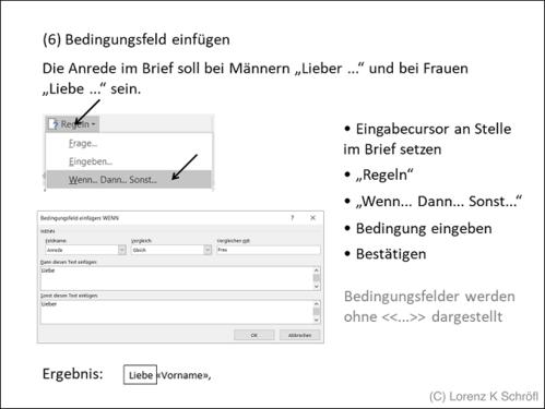 Serienbriefe Mit Microsoft Word 2016 Powerpoint Präsentation Ppt Pptx